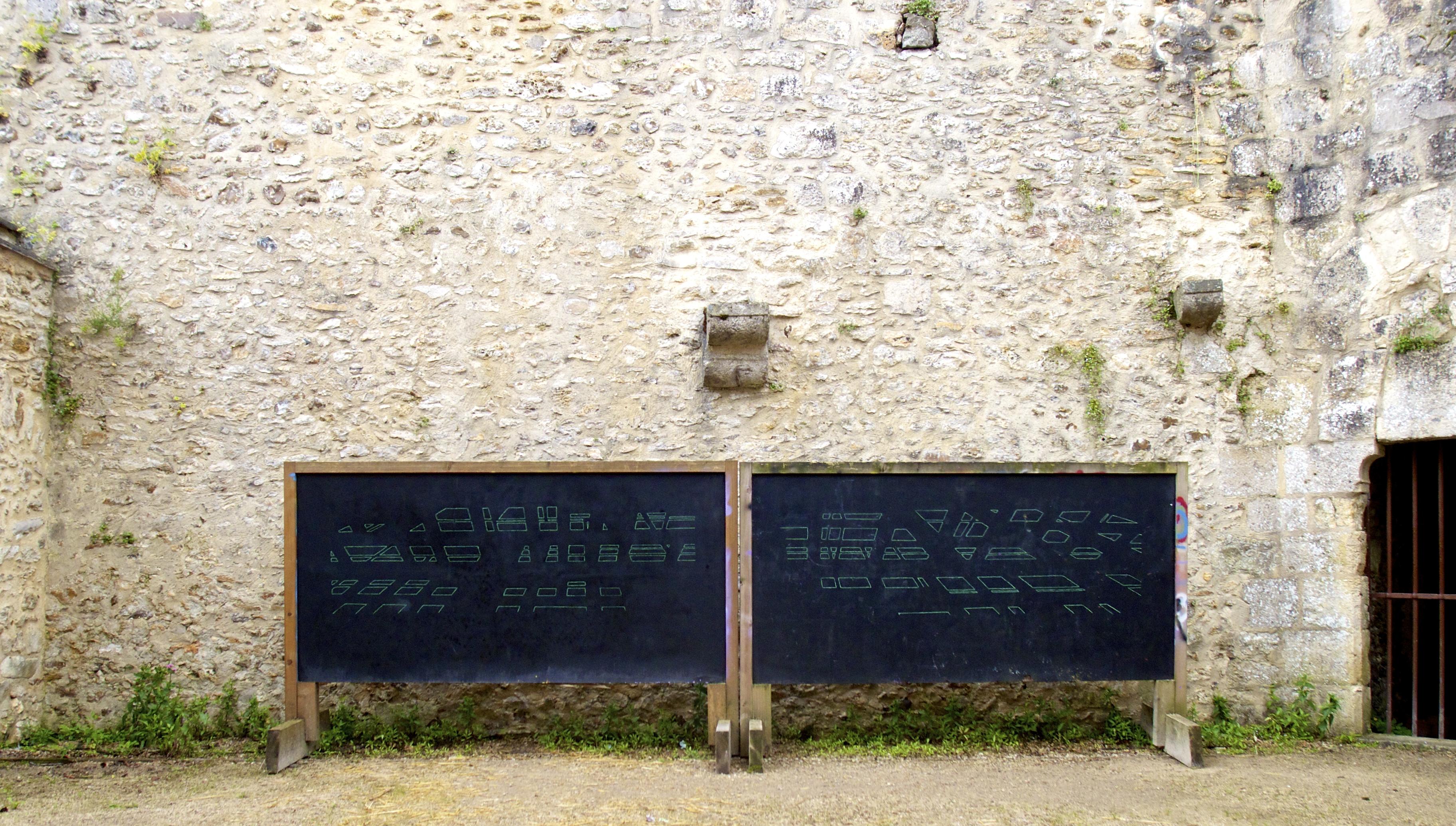 Gerda Kruimer, Penseesauvages chateau Dourdan, 2016