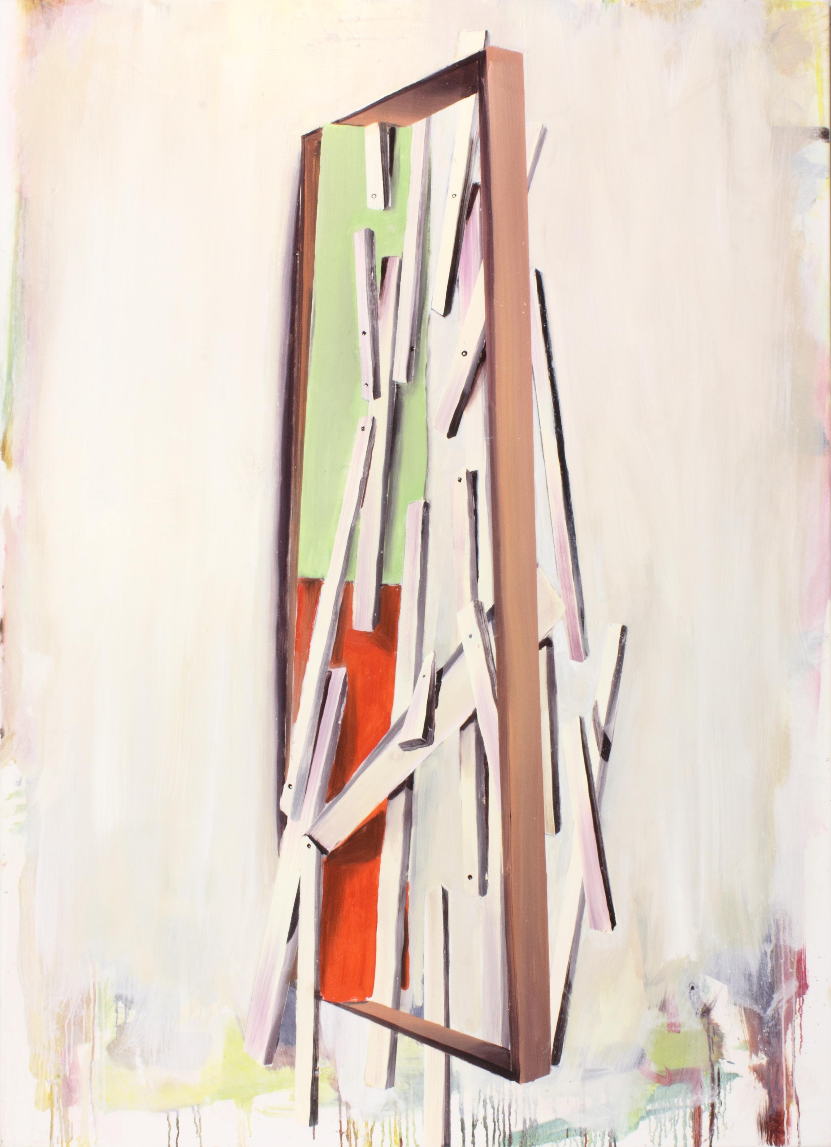 Joseph's Workshop olie op doek 2016 160 x 110 cm