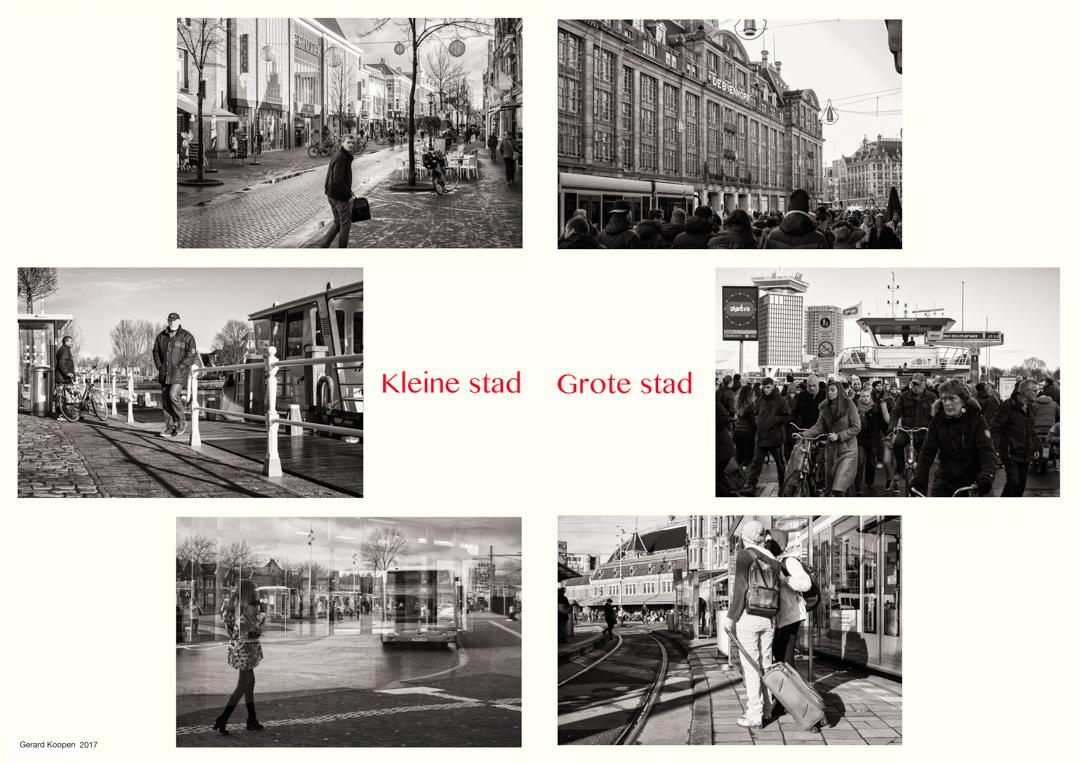 Gerard Koopen Grote Kleine stad-w